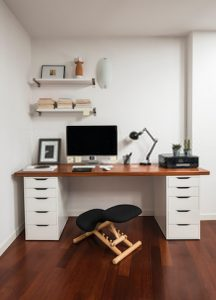 Use the Dressing table as Working Desk