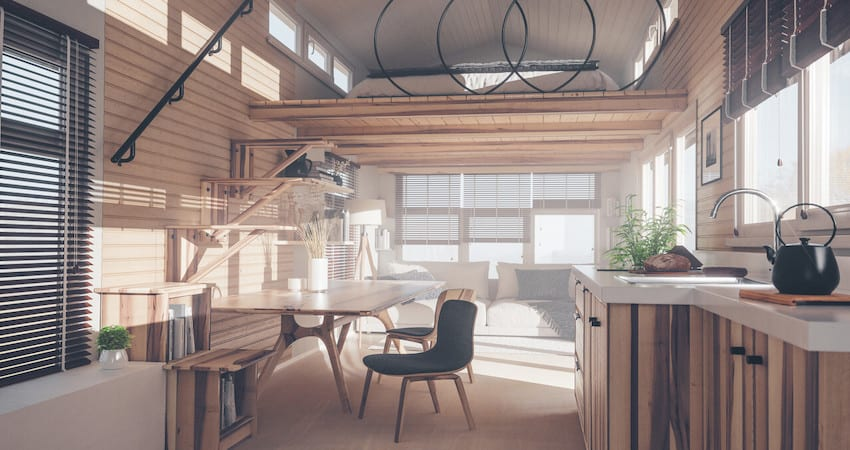 What is the Ideal Height For A Tiny House Loft?