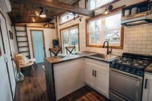 Kitchen Island for Tiny House