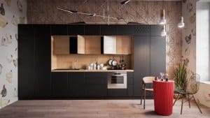 One-wall kitchen