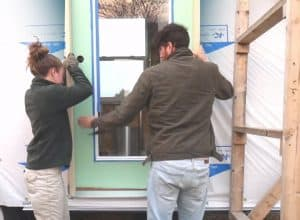 Install door and windows where it will be perfect