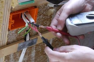 Install electricity and plumbing