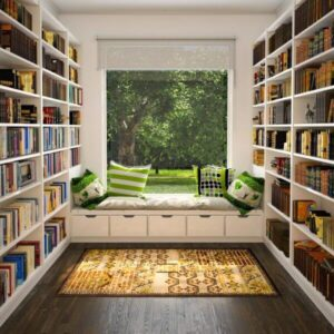 Place your Cozy Reading Nook in a Sunny Place