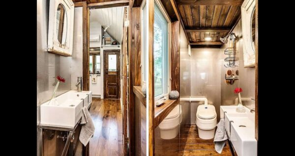Top Choices For Making the Most of Tiny House Bathrooms