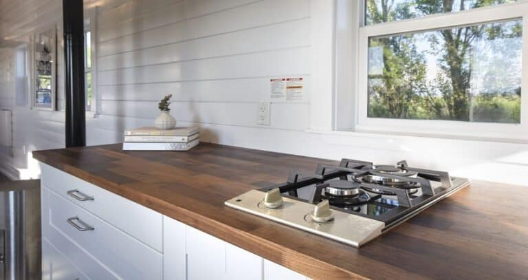 Tiny House Cooktop Options