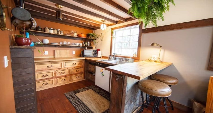 The Complete Guide to Tiny House Kitchen Cabinets