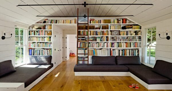 Tiny House Library: How to Create a Cozy Reading Nook?