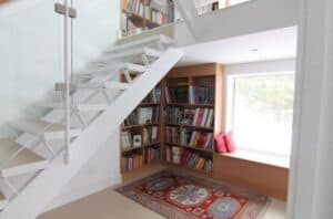 Use your cupboard under the stairs