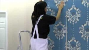 What should you consider before installing wallpaper